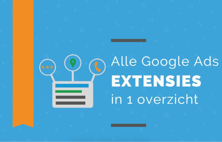 Google Ads extensies